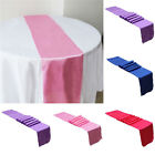 Satin Ribbon Table Runner Wedding Supply Party Banquet Decoration 30cm x 275cm