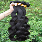 4 bundles Peruvian Virgin Remy hair Body Wave Human Hair weft 200g 6A Hair
