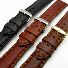 Napoli Luxury Heavy Stitched Padded Leather Watch Band 18mm 20mm 22mm 24mm