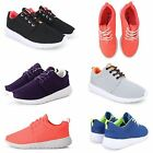 WOMENS LADIES LACE UP FITNESS GYM RUNNING WALK LIGHTWEIGHT MESH TRAINERS SHOES