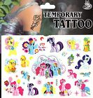 MY LITTLE PONY DISNEY Temporary Tattoos Brand New and Fully Sealed