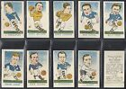 KIDDYS FAVOURITES - POPULAR FOOTBALL ERS (NUMBERS 01-25) PLEASE SELECT YOUR CARD