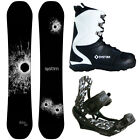 New 2016 System DNR Mens Snowboard Package +APX Bindings+APX Boots.. Ride On