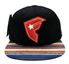 Famous Stars & Straps Native Fitted Cap Hat Black