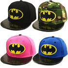 Unisex Children Hip-Hop Scooter Batman Sunny School Baseball Caps Visor Sun Hats