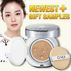 O HUI Super Moisture CC Cushion Full Size Foundation Whitening BB CC Cream OHUI