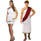 Adult Caesar Toga Greek Roman Fancy Dress Costume Outfit Goddess Grecian Julius for sale  Shipping to United States