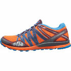 Helly Hansen Terrak Mens Footwear Trail Shoes - Bright Orange Racer Blue