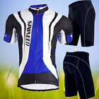 2015 New Mens Cycling Jerseys Cycle Gear Bike Gel Padded Shorts Bicycle Clothing
