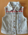 Girl's BabyGAP Denim Vest - Light wash - 4T, 5T - NEW with tag