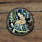 Sterett Fairy tale Girl TORTOISE Cuff Link or Tie Tack or Ring or Pendant or Pin