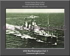 USS Northampton CLC 1 Personalized Canvas Ship Photo Print Navy Veteran Gift
