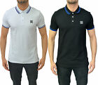 Mens Designer Foray Polo T-Shirt Tip Stylish Smart Jersey Pique Force3 Tee Top T