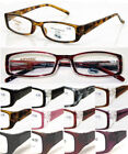 L147 Quality Unisex Reading Glasses/Spring Hinges/Classic Style Designs/Wide Arm