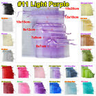 25pcs 13x18cm Organza Gift Bags Packing Pouches Wedding Party Favour Decoration