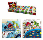 Angry Birds Sheet Set - Boys Bedroom Kids Childrens Bedding Bold Video Sheets