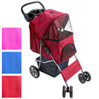 Pet Stroller Trailer Carrier Weatherproof Cover Animal Travel Colour Choice