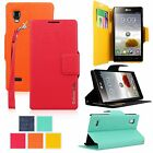 For LG Optimus L9 P760 P768 PU Leather Wallet Flip Card Holder Pocket Stand Case