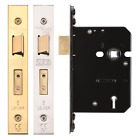 Mortice BS 5 Lever Sash Lock Fire Door Lock Union 2201 Replacement with 2 Keys