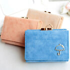Hot Sale Mini Women Umbrella PU Leather Purse Small Clutch Wallet Card Holder