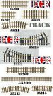 NEW PIKO G SCALE 45mm GAUGE BRASS METAL TRAIN TRACK COMPATIBLE LGB BACHMANN