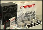 SBC CHEVY 383 WISECO FORGED PISTONS & RINGS .030 OVER -12cc RD DISH TOP KP486A3