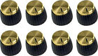 MARSHALL GOLD JCM 800 900 AMPLIFIER AMP KNOBS PUSH-ON (8-PACK) *NEW*