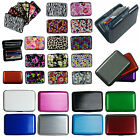 Внешний вид - Business ID Credit Card Wallet Holder Aluminum covered Pocket Case Box