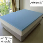 Abripedic 2 inch Ventilated Best Cool Viscoelastic Memory Foam Mattress Toppers