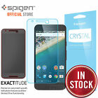 Nexus 5X Screen Protector, Genuine Spigen FULL HD Crystal CR for Google Nexus 5X