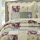 Tania Oversized Bedspread Wrinkle Free and Soft Reversible Modern Coverlet Set