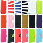 New Flip PU Leather Luxury Wallet Cover Stand Case for Samsung Galaxy S5 i9600
