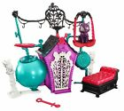 Girls Monster High Secret Creepers Crypt Playset Dolls Pet Electronic Sounds Toy