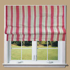 **SALE** Orkney Stripe Pink Lined Roman Blind With Fittings **Great Quality**
