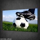 FOOTBALL KICK OFF SPORT MODERN WALL ART CANVAS PRINT PICTURE READY TO HANG