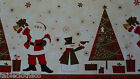 CHRISTMAS SANTA VINYL PVC OILCLOTH WIPE CLEAN TABLECLOTH CO click for sizes