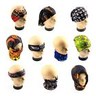Cool Head Face Mask Multi Wear Cotton Tube Bandana Durag Biker Motorcycle Scarf