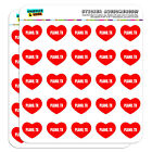 "1"" Scrapbooking Crafting Stickers I Love Heart City State O-R"