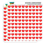 "1/2"" (0.5"") Scrapbooking Crafting Stickers I Love Heart Sports Hobbies A-B"