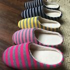 New Soft Couple Indoor Floor Soft Non-slip Slippers Flock House Home Shoes G45