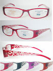 L322 Super Fashion Reading Glasses & Laser Pattern Arms +100+125+150+175+200+250