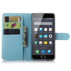 PU Leather Magnetic Wallet Stand Case Cover For Meizu M2 Mini Mobile Phone