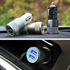 2-port mini USB Car Charger Adapter 2.1A & 1A For iPhone 6S Plus Samsung HTC LG