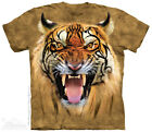 The Mountain BIG TIGER FACE TYGERSON Adult Men T-Shirt S-2XL Short Sleeve