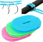 Outdoor Clotheslines Laundry Hangers Portable Travel Household Durable 3/5m Hot