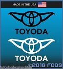 TOYODA Decal Sticker Larger Sizes Graphic Vinyl For Cars Windows Trucks Laptops