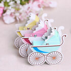 10pcs Carriage Candy Box Boxes For Wedding Party Baby Shower Favor Gift New