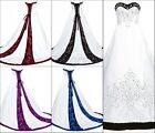 Romantic Gothic Ball Gown Wedding Dresses Plus Size Formal Bridal Gowns