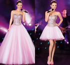 Hot Selling Rhinestone Quinceanera Dresses Sweetheart Tulle Prom Party Gowns New