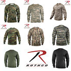 Rothco Military Tactical Hunting Long Sleeve Camo T Shirts